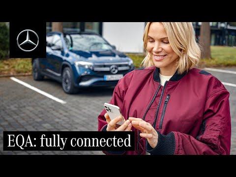 Musique publicité Mercedes Benz Mercedes me et les services connectés dans le nouveau pub EQA 2021   Juillet 2021