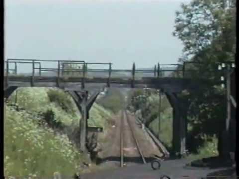Führerstandsmitfahrt Leinefelde - Teistungen 1993