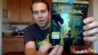Unboxing - The Jungle Book 2016 Blu-Ray/DVD/Digital HD Combo Pack