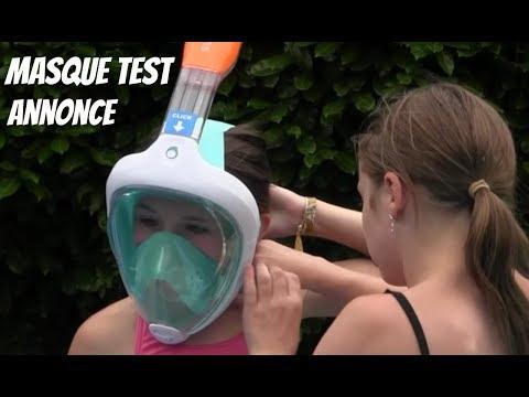 Le masque pour la personne avec bodyagoj et moumie