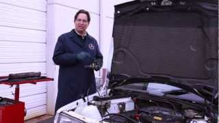 Mercedes W201 190E and 190D Heater Valve Alert: Location and Problem Explained