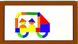 ✓  Магнитный конструктор. Видео для детей