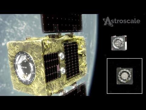 לוויין ניקוי החלל הראשון בעולם - שוגר בהצלחה