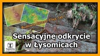 Sensacyjne odkrycie w Łysomicach ! – Odkryto budowle sprzed 7 tys. lat