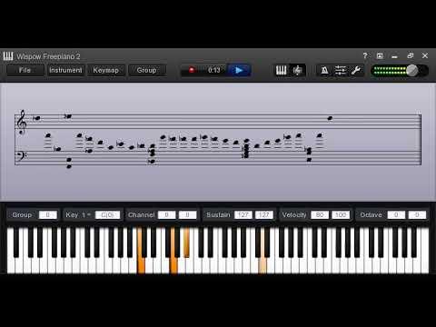251 piano runs in the key of E flat Major by johnsonkeyz