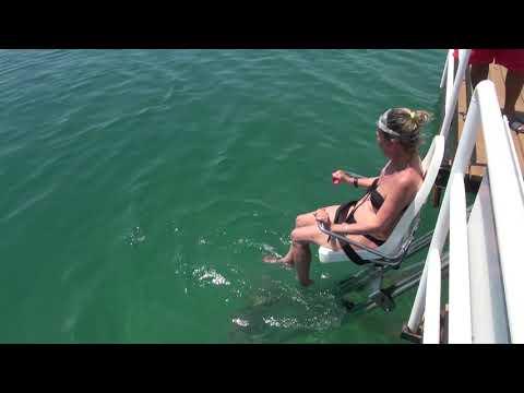 Engelli bireylerin plaj keyfi