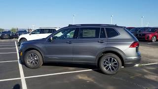 2020 VW Tiguan 2.0T SE 4Motion W/Storm Gray Interior And Panoramic Sunroof