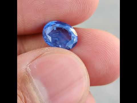 Blue Sapphire - 3.90 Carat