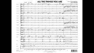 All the Things You Are arranged by Mark Taylor