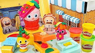 Pinkfong, Baby Shark Ollie and William Shark Family Cube Play   PinkyPopTOY
