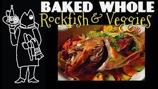 Baked Rockfish: Mediterranean Delight