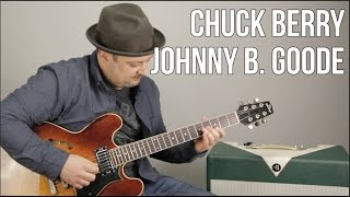 Chuck Berry - Johnny B. Goode - How to Play on guitar - Guitar Lesson, Tutorial