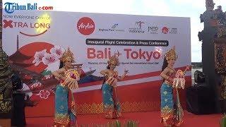 Begini Video Kemeriahan Sederhana Inaugural Flight AirAsia X Indonesia Bali Tokyo
