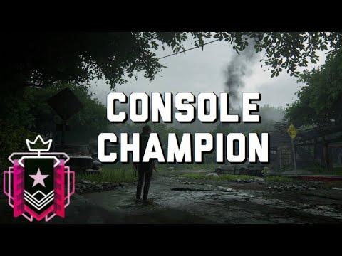 CONSOLE CHAMPION - Rainbow Six Siege Console Champion