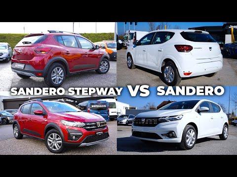 Dacia Sandero Sterpway vs Dacia Sandero 2021