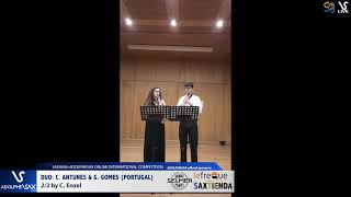 DUO C. ANTUNES & G. GOMES play 2:2 by C. Enzel #adolphesax