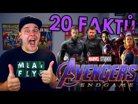 20 FAKTŮ - Avengers Endgame