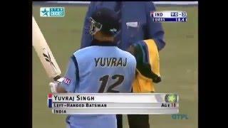 Yuvraj Singh Debut Match Vs Australia Full Match Highlights-Must Watch