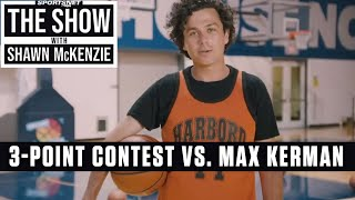 3-Point Shooting Competition With Arkells Lead Singer Max Kerman | The Show w/ Shawn McKenzie