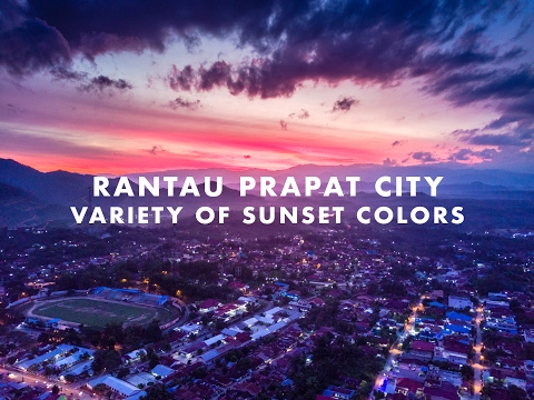 Rantau Prapat City in 4K