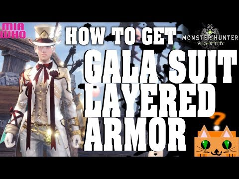 Monster Hunter World | New Diver Armor Set Overview + Layered Armor
