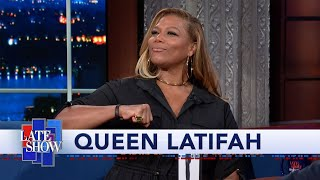 Queen Latifah Gives Stephen A Preview Of Her Ursula