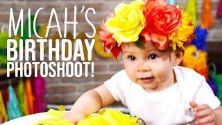 Micahs First Birthday Photo Shoot! *Cuteness Overload*