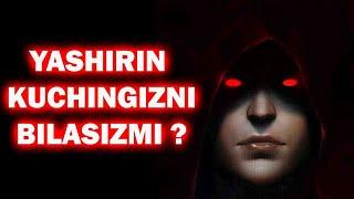 TEST: Yashirin kuchingiz nimada ??? BILIB OLING !!!