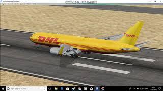 flight simulator dhl - मुफ्त ऑनलाइन वीडियो