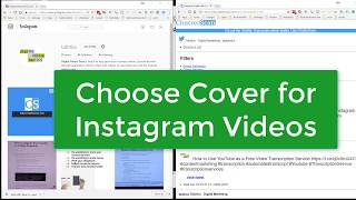 How to Add a Cover Thumbnail to Instagram Video During Upload