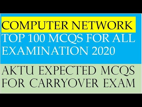 COMPUTER NETWORK TOP 100 MCQS FOR ALL EXAMINATION ...