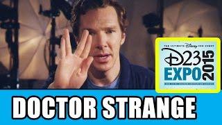 Бенедикт Камбербэтч, Doctor Strange D23 Expo Panel Highlights - Benedict Cumberbatch, Kevin Feige