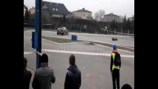 preview picture of video 'Lędziny 10.03.2013r pierwszy przejazd PKS'
