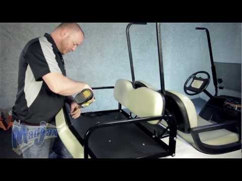 Rear Seat Kit for Yamaha® Drive® | How to Install Video | Madjax® Golf Cart Accessories