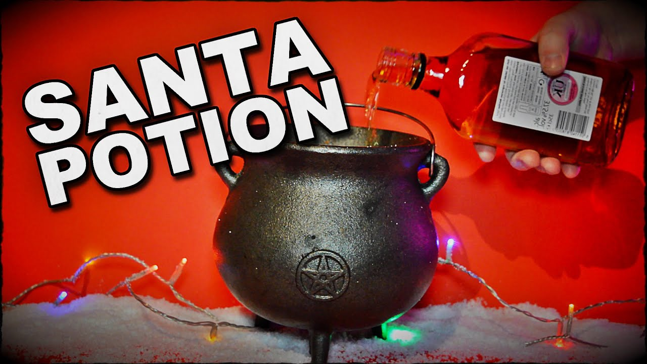 How To Make A Potion To Summon Santa Claus