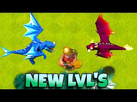 """NEW TROOP LEVELS #2 """"Clash Of Clans"""" ALL UPGRADES!!"""