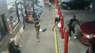 Surveillance video released in gas station shooting