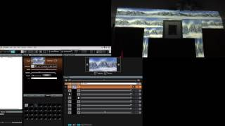 ArKaos Grand VJXT Video Tutorial - 7. ArKaos GrandVJ XT tutorial - mapping multiple surfaces as one