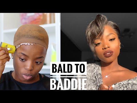HOT GIRL SUMMER WIG TRANSFORMATION || Bald to Baddie ft. MyFirst Wig