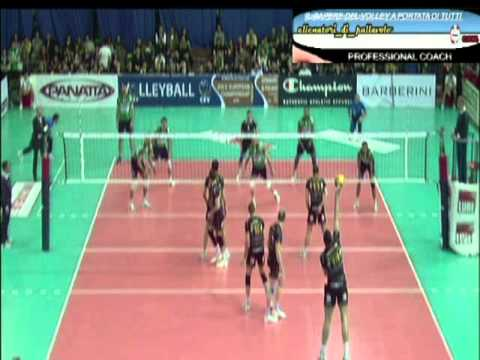 Preview video Cuneo volley 7 player in the match