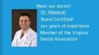 Springfield Virginia Dentist - Sina Malekuti DDS