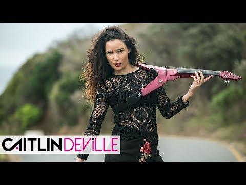 Просто Обалденная Музыка ! Rockabye  Electric Violin Cover | Caitlin De Ville