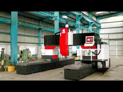 CNC Moving Column Gantry Type Vertical Machining Center