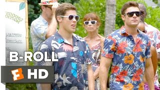 Mike And Dave Need Wedding Dates BROLL 2016  Zac Efron Movie