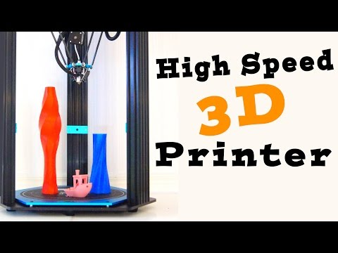 HUGE Delta 3D Printer – TEVO Delta (Little Monster) Full Review