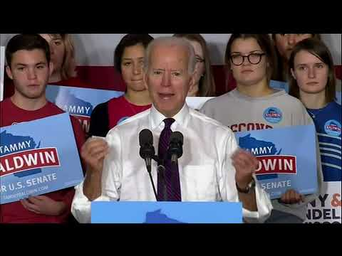 Former Vice President Joe Biden is calling for more civility in politics, especially after the killing of 11 Jewish people at a Pittsburgh synagogue. (Oct. 30)