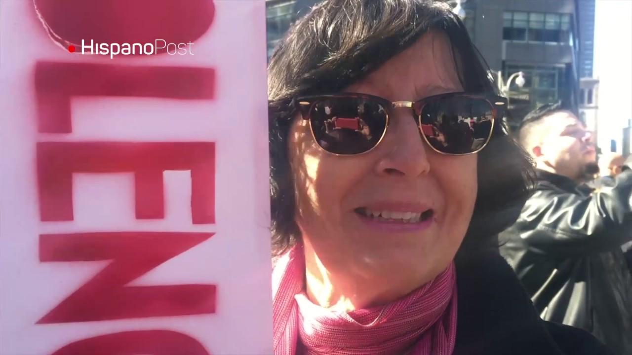 """Inmigrantes celebraron el día del """"antipresidente"""" en Nueva York"""
