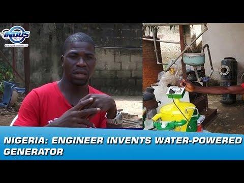 Nigeria: Engineer invents water-powered generator | Indus News