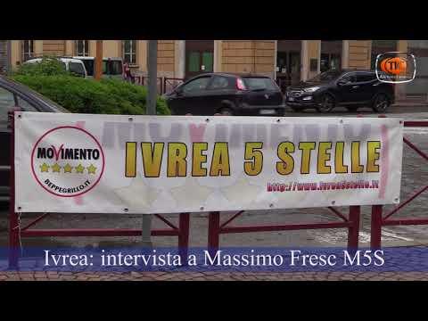 Preview video Ivrea: Intervista a Massimo Fresc candidato a Sindaco per il Movimento 5 Stelle