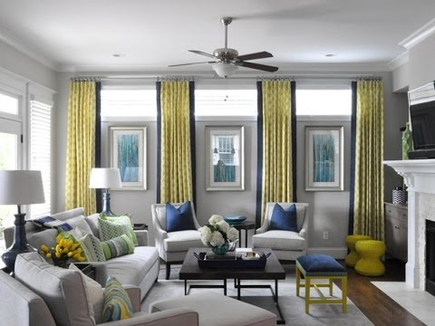 Awesome Window Treatment Ideas for Living Room